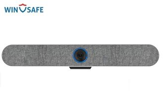 Professional USB Plug-N-Play All In One Camera Audio Soundbar With An Ultra-Wide Lens